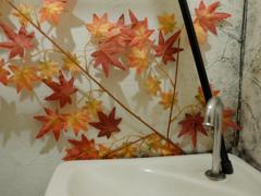 立ち小便と秋