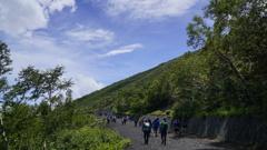 富士山 5合目①