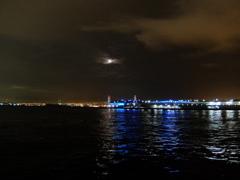 赤レンガからみた夜景