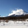 富士散策公園より