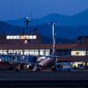 鳥取空港ターミナル夜景