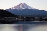 富士山の朝