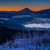 高ボッチview2017.12.09凍てつく朝
