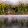 霧の中綱湖