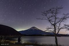 夜の田貫湖1