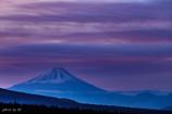 霧ヶ峰の夜明け