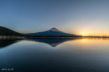 田貫湖の日の出
