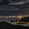 諏訪湖夜景