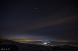 霧ヶ峰の夜明け前