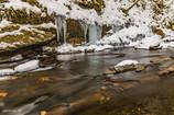 厳冬の横川渓谷1