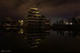 夜の松本城3