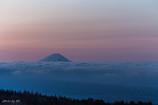 富士の朝焼け