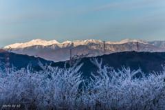 樹氷と北アルプス1