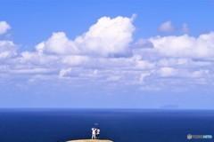 空と海が溶け合う場所
