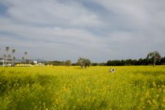伊良湖の春で「ハイポーズ♪」