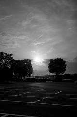 最後の夕陽