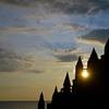砂の城 Silhouette