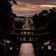 参道の黄昏
