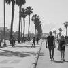 Walking to Santa Monica