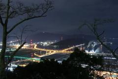 広島 黄金山 夜景