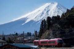 ローカル線のある風景(富士急行)
