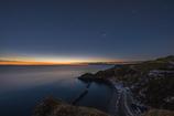 夜明けの漁村