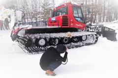 君と冬の想い出~圧雪車とロックオン!!(`・д『+』
