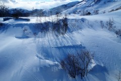 君と眺めた雪景色~風花~