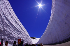 しずくBlue~キラキラ輝く雪の壁~