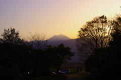 君と眺めた美しい夕暮れ~常念岳~