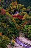 君と見た、赤い橋~松川渓谷~