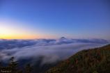 雲海と夜明け