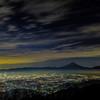 甘利山からの夜景