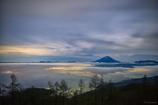 カラフルな雲海