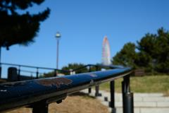 葛西臨海公園 渚から見る観覧車