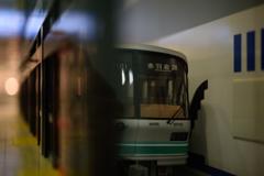 東京メトロ南北線赤羽岩淵行き(模型)