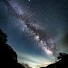 谷川岳の麓の夜空 .*.。☆彡