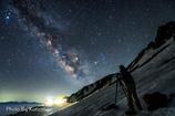 星を撮る人