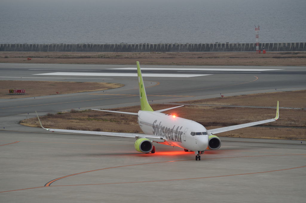 ソラシド B737 Anti Collision Light
