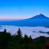 ちょっとした雲海富士3