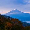 蒼い富士山