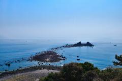 真鶴岬の三ツ石