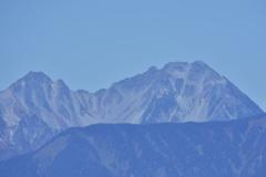 涸沢岳と大キレット