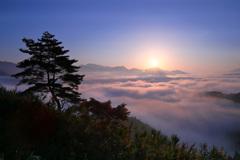 国見ヶ丘雲海