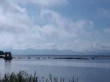 猪苗代湖 朝