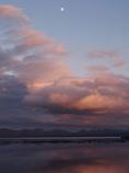 猪苗代湖の夕暮れ3