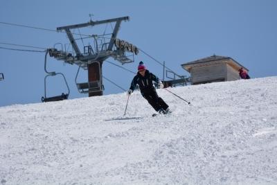 湯沢高原スキー場にて