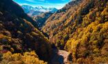 秋晴れ黒岳