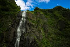 断崖絶壁の滝へ^.^