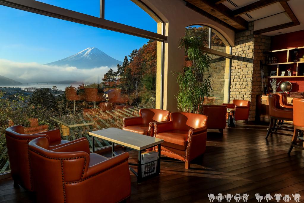 富士山 VIP席